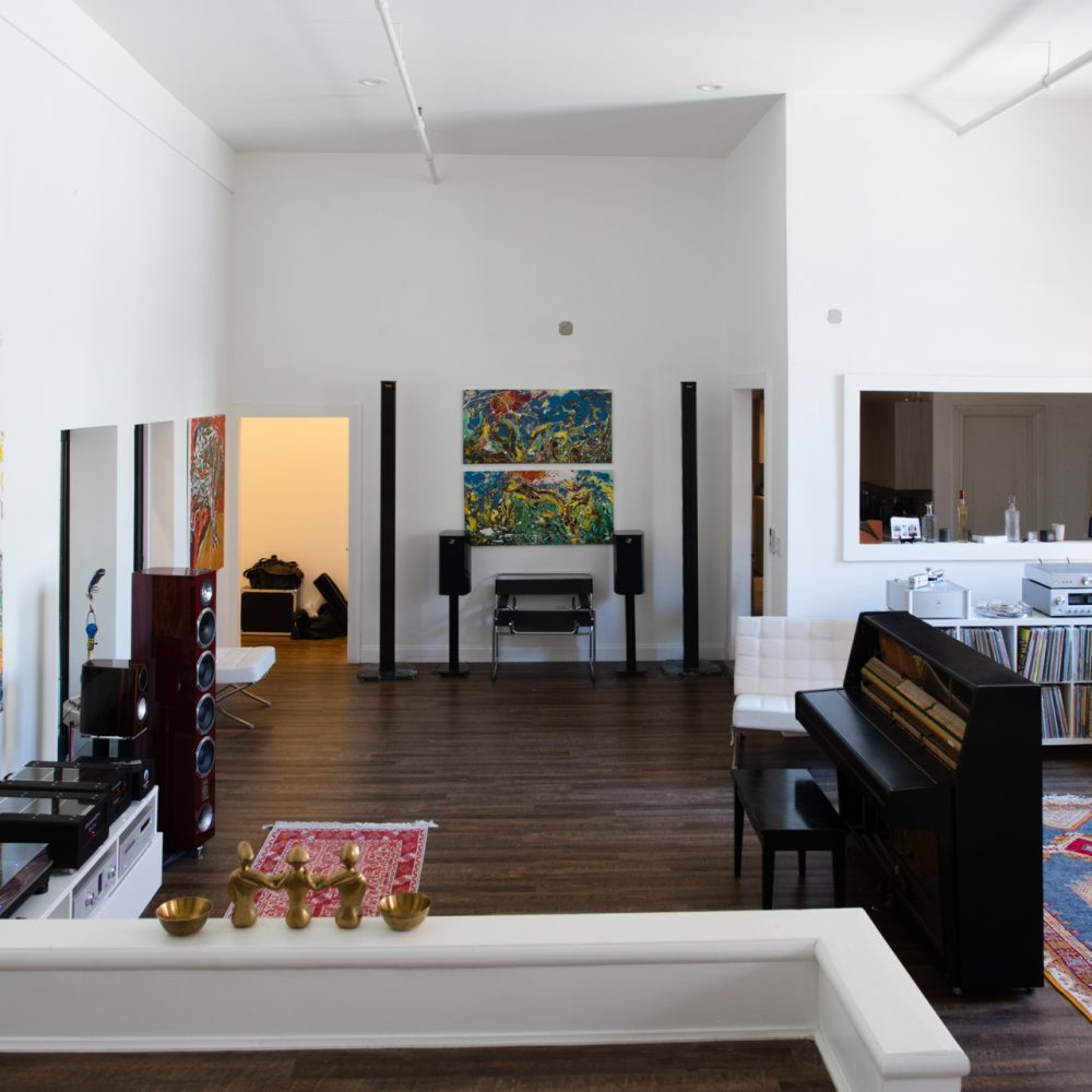 interior photo of hifi loft